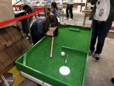 ゴルフにも挑戦!