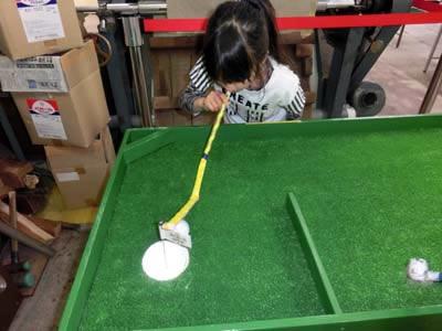 ゴルフゲーム、あと一息!