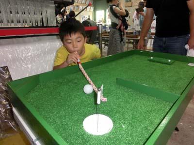 ゴルフゲームに挑戦!
